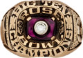 Football Collectibles:Others, 1984 Ohio State University Big Ten Football Championship Player's Ring....