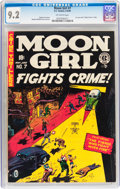 Golden Age (1938-1955):Superhero, Moon Girl #7 (EC, 1949) CGC NM- 9.2 Off-white pages....
