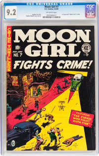 Moon Girl #7 (EC, 1949) CGC NM- 9.2 Off-white pages