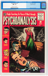 Psychoanalysis #3 Gaines File pedigree 11/12 (EC, 1955) CGC NM- 9.2 Off-white to white pages
