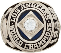 1959 Los Angeles Dodgers World Championship Ring Presented to Don Zimmer