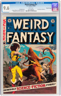 Golden Age (1938-1955):Science Fiction, Weird Fantasy #21 Gaines File pedigree 9/12 (EC, 1953) CGC NM+ 9.6 White pages....