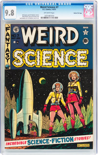 Weird Science #7 Gaines File pedigree (EC, 1951) CGC NM/MT 9.8 Off-white pages