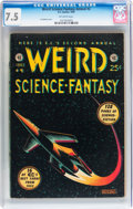 Golden Age (1938-1955):Science Fiction, Weird Science-Fantasy Annual #2 (EC, 1953) CGC VF- 7.5 Off-whitepages....
