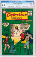 Golden Age (1938-1955):Superhero, Detective Comics #226 (DC, 1955) CGC FN- 5.5 Off-white to white pages....