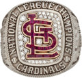 Baseball Collectibles:Others, 2013 St. Louis Cardinals National League Championship Ring....