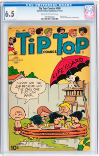 Tip Top Comics #188 (United Features Syndicate/Standard, 1954) CGC FN+ 6.5 Cream to off-white pages