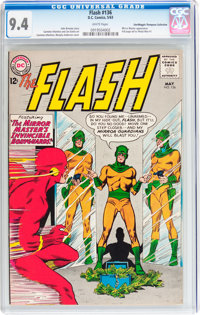 The Flash #136 Don/Maggie Thompson Collection pedigree (DC, 1963) CGC NM 9.4 White pages