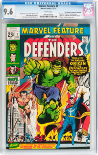 Marvel Feature #1 The Defenders - Don/Maggie Thompson Collection pedigree (Marvel, 1971) CGC NM+ 9.6 White pages