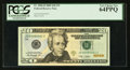 Small Size:Federal Reserve Notes, Low Serial Number JD00000001C Fr. 2096-D $20 2009 Federal Reserve Note. PCGS Very Choice New 64PPQ.. ...