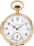 "Timepieces:Pocket (post 1900), Didisheim Swiss Gold ""Chimer"" Quarter Hour Repeater, circa 1905...."
