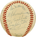 Autographs:Baseballs, 1948 St. Louis Cardinals Team Signed Baseball. The 1948 St. Louis Cardinals were kept out of the World Series at the hands ...