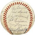 Autographs:Baseballs, 1960 St. Louis Cardinals Team Signed Baseball. Beautiful collectionof 24 signatures from the 1960 St. Louis Cardinals appe...
