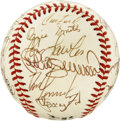Autographs:Baseballs, 1988 St. Louis Cardinals Team Signed Baseball. The St. LouisCardinals of 1988 are represented here by this collection of 2...