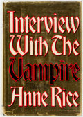 Books:Horror & Supernatural, Anne Rice. FIRST EDITION. Interview With the Vampire. NewYork: Alfred A. Knopf, 1976. First edition. Octavo. Pu...