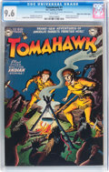 Golden Age (1938-1955):Adventure, Tomahawk #1 Mile High pedigree (DC, 1950) CGC NM+ 9.6 White pages....
