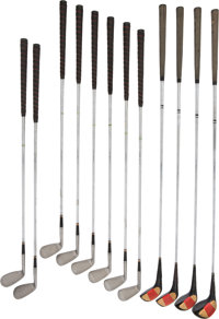 1950's President Dwight D. Eisenhower Match Used Clubs (12)