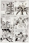 Original Comic Art:Panel Pages, Jack Kirby and Dick Ayers Journey Into Mystery #85 Page 4Original Art (Marvel, 1962)....