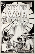 Original Comic Art:Covers, Joe Kubert Men of War #5 Cover Original Art (DC, 1978)....