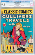 Golden Age (1938-1955):Classics Illustrated, Classic Comics #16 Gulliver's Travels - Original Edition - Vancouver pedigree (Gilberton, 1943) CGC NM- 9.2 Off-white to white...