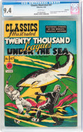 Golden Age (1938-1955):Classics Illustrated, Classics Illustrated #47 Twenty Thousand Leagues Under the Sea -First Edition - Vancouver pedigree (Gilberton, 1948) CGC NM 9...