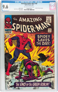 Silver Age (1956-1969):Superhero, The Amazing Spider-Man #40 (Marvel, 1966) CGC NM+ 9.6 Off-white to white pages....