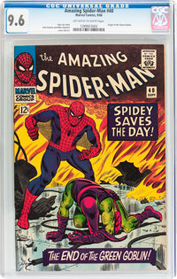The Amazing Spider-Man #40 (Marvel, 1966) CGC NM+ 9.6 Off-white to white pages