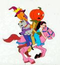 Books:Prints & Leaves, Original Hand-Painted Animation Cel from Journey Back to Oz. 1971. Movie features Liza Minnelli and Mickey Rooney. M...