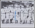 Baseball Collectibles:Photos, DiMaggio, Gehringer and Greenberg Multi Signed Baseball....