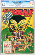 Silver Streak Comics #6 (Lev Gleason, 1940) CGC VG/FN 5.0 Cream to off-white pages