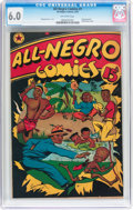 Golden Age (1938-1955):Humor, All-Negro Comics #1 (All-Negro Comics, 1947) CGC FN 6.0 Off-white pages....