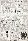 "Original Comic Art:Panel Pages, Jack Kirby and Chic Stone Fantastic Four #31 ""The Mad Menaceof the Macabre Mole Man!"" Page 6 Original Art (Marvel..."