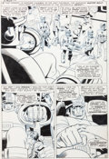 Original Comic Art:Panel Pages, Jack Kirby, Werner Roth, and Dick Ayers X-Men #16 Page 6 Original Art (Marvel, 1966)....