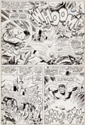 Original Comic Art:Panel Pages, Jack Kirby, Gil Kane and Mike Esposito Tales to Astonish #76Story Page 2 Original Art (Marvel, 1966)....