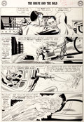 "Original Comic Art:Panel Pages, Mike Sekowsky and Joe Giella The Brave and the Bold #29Justice League of America ""Challenge of the Weapons Master..."
