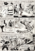 "Original Comic Art:Panel Pages, Don Heck and Frank Giacoia (as Frankie Ray) The Avengers #28""Among Us Walks... a Goliath!"" Page 18 Original Art (..."