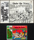 Original Comic Art:Covers, Bill Griffith The Tiajuana Bible Revival Volume Two: Under theStars in Hollywood Cover Original Art (Hooker, Cali...