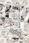 Original Comic Art:Panel Pages, Don Heck and George Tuska X-Men #40 Page 6 Original Art(Marvel, 1968)....