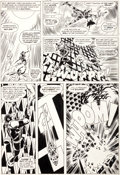 "Original Comic Art:Panel Pages, Don Heck and John Romita Sr. The Avengers #23 ""Once anAvenger..."" Page 11 Original Art (Marvel, 1965)...."