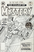 Original Comic Art:Covers, Ernie Chan (signing as Ernie Chua) and Vince Colletta House ofMystery #249 Cover Original Art (DC, 1979)....