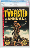 Two-Fisted Annual #2 (EC, 1953) CGC NM- 9.2 Off-white to white pages