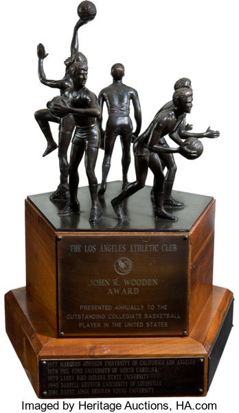 Basketball CollectiblesOthers The John R Wooden Award Player Of Year Perpetual