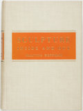 Books:Art & Architecture, Malvina Hoffman. SIGNED. Sculpture Inside and Out. New York: W.W. Norton, [1939]. First edition. Signed by the aut...