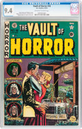 Golden Age (1938-1955):Horror, Vault of Horror #18 (EC, 1951) CGC NM 9.4 Off-white to whitepages....