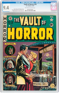 Vault of Horror #18 (EC, 1951) CGC NM 9.4 Off-white to white pages