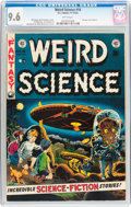 Golden Age (1938-1955):Science Fiction, Weird Science #16 (EC, 1952) CGC NM+ 9.6 White pages....