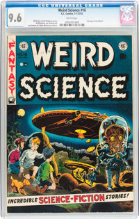 Weird Science #16 (EC, 1952) CGC NM+ 9.6 White pages
