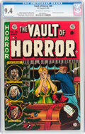 Golden Age (1938-1955):Horror, Vault of Horror #35 (EC, 1954) CGC NM 9.4 Off-white to whitepages....