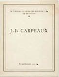 Books:Art & Architecture, A. Lefrancq. J.-B. Carpeaux. Brussels, 1929. Octavo. 22 pages. Original printed wrappers. Some soiling and rubbing t...