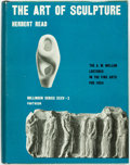 Books:Art & Architecture, Herbert Read. The Art of Sculpture. The third volume in the A.W. Mellon Lectures in the Fine Arts. Pantheon, [1956]....